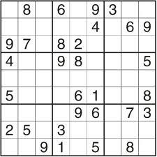 sudoku lagano 1