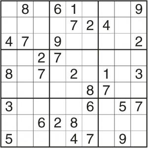 sudoku lagano 2