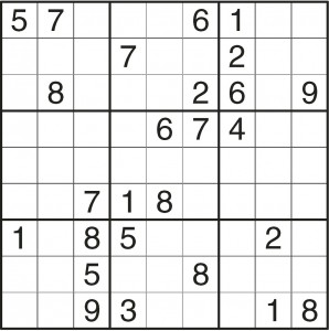 sudoku lagano 3